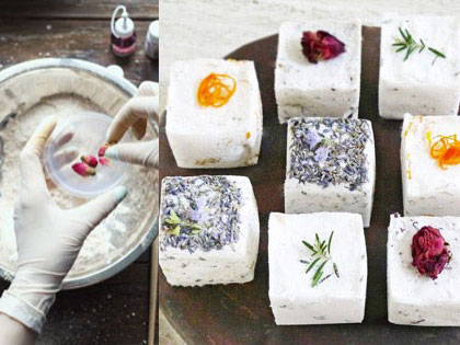Want 100% Organic Bath Bombs on Scratch? Here's The DIY For You