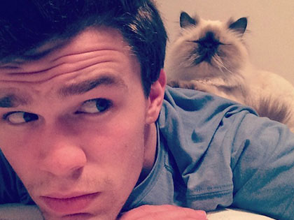 15 Celebrities Who Are Just As Obsessed With Their Cats As You Are