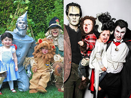 8 Photos Prove That Neil Patrick Harris And His Family Win Halloween Every Year