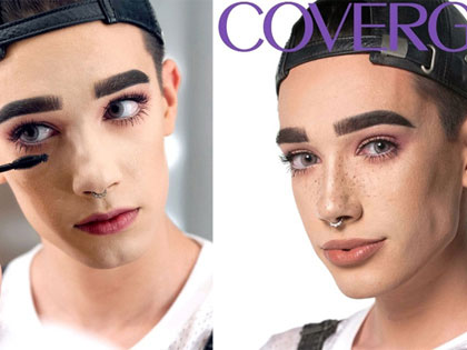 See This Guy Who Is The World's First CoverBoy of CoverGirl