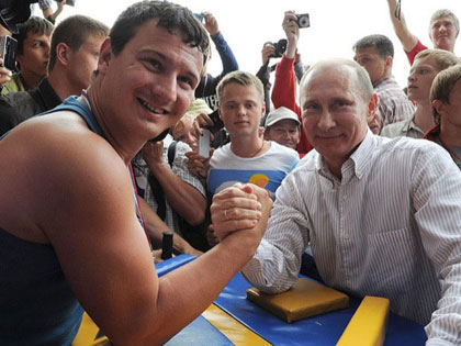 Vladimir Putin-The Toughest Leader Of The World?