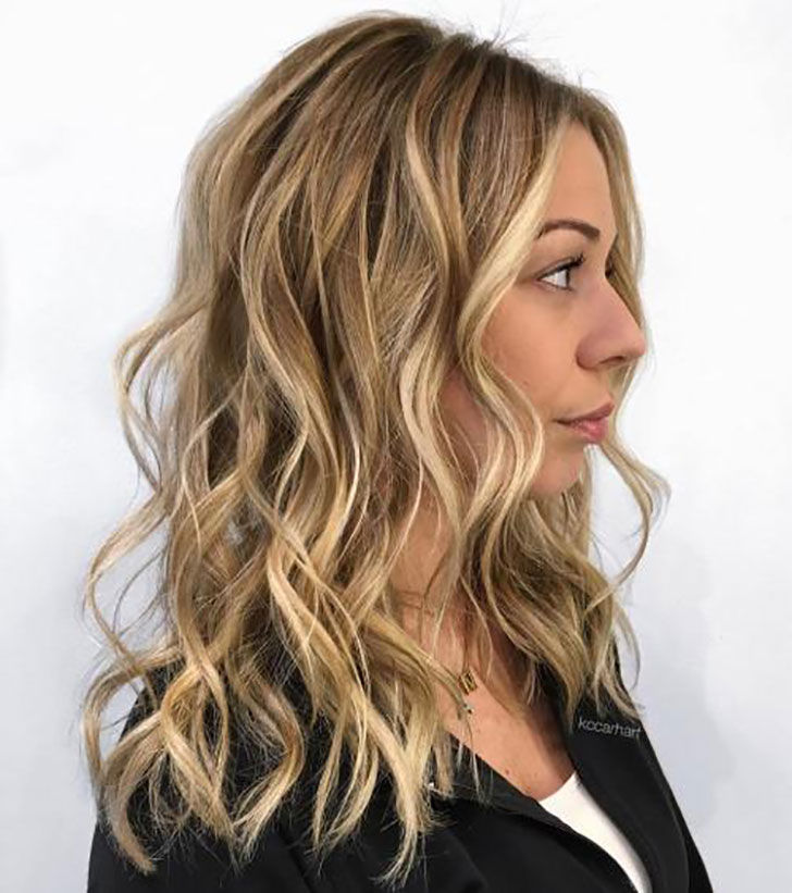 4.Bronde,Curly And Beautiful