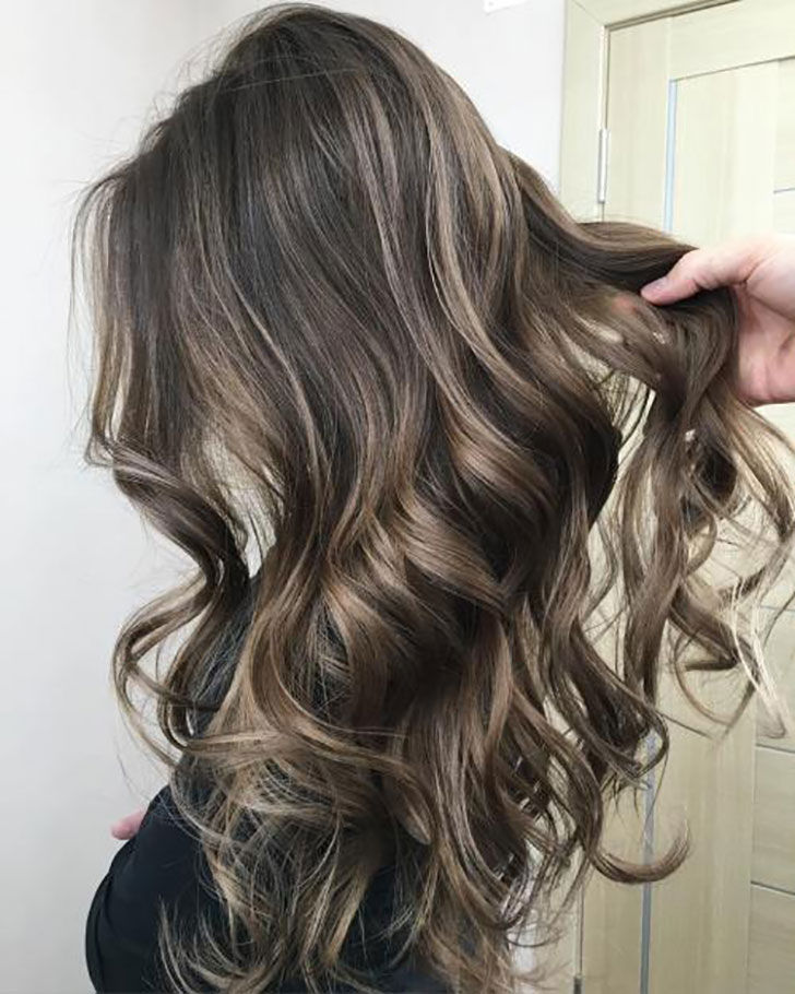 5.Long Hair With Ash Bronde Color