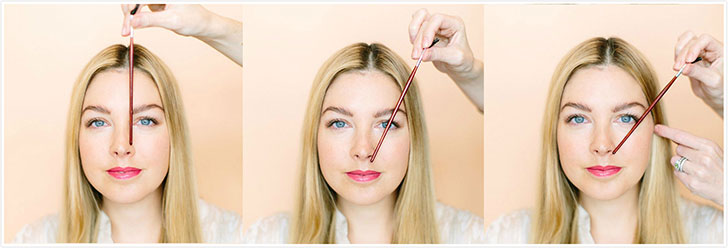 eyebrows shaping