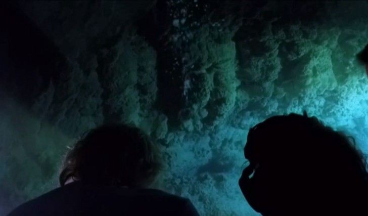 Men Dive Into The Blue Hole Of Belize, Uncovering A Dark Secret Hiding In The Murky Depths_9