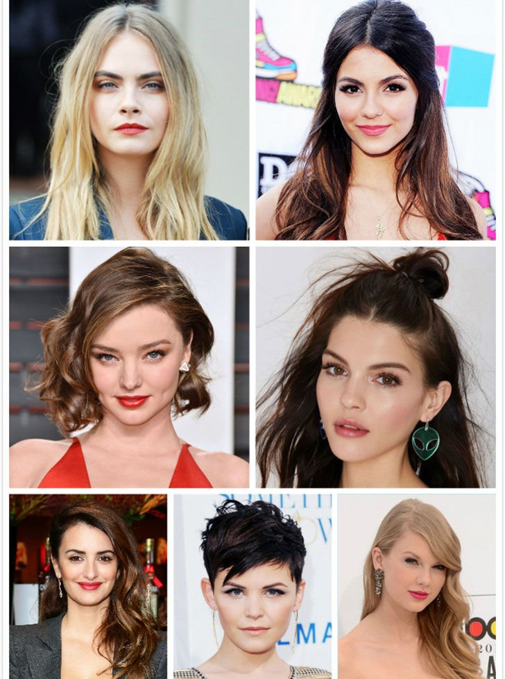 round face celebs