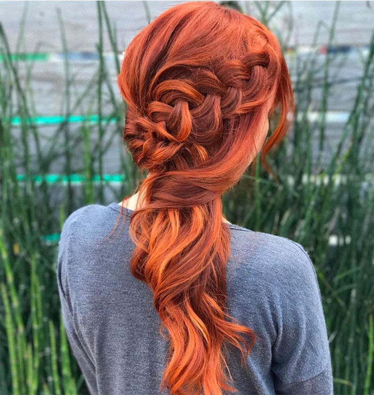 ice and fire waterfall braid