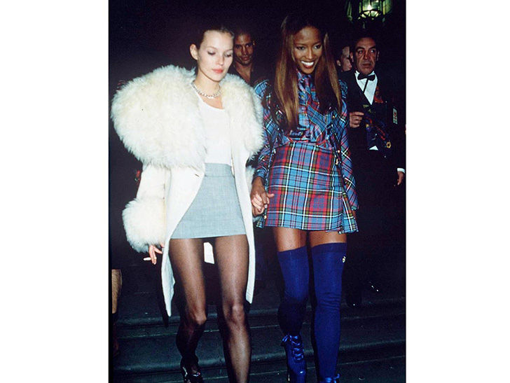 Kate Moss and Naomi Campbell, 1993