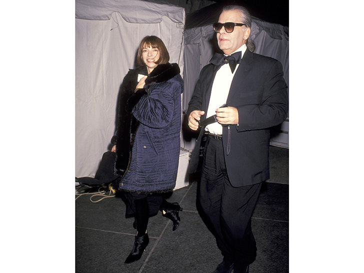 Anna Wintour and Karl Lagerfeld, 1993