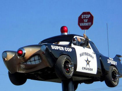 15 Hilarious Police Cars That Totally Need To Be Pulled Over
