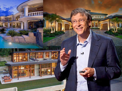 16 Crazy Facts About Bill Gates' House