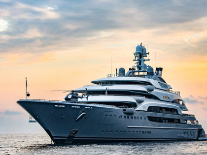 A Closer Look At The World's 20 Largest Yachts