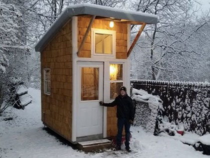 At The Age of 13, He Built A House That Surprised Everyone With Only $1500