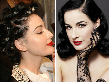 DIY Pin Curls: Harm-Free Way to Look Vintage