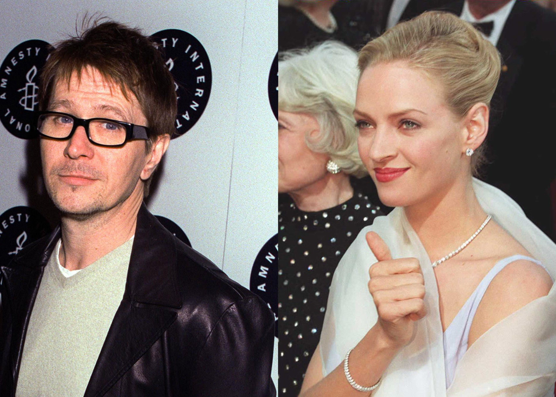 Gary Oldman And Uma Thurman: 15 Most Powerful Hollywood Couples