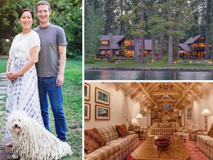 A Tour Of Mark Zuckerberg's $59 Million Lake Tahoe Compound