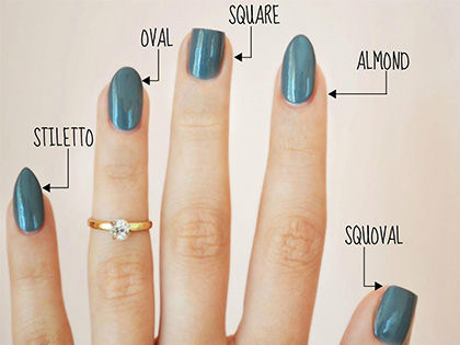 The Complete Guide to Nail Shapes: Make Your Fingers Look Slimmer!