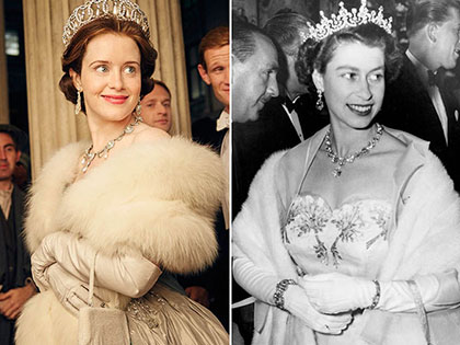 """The Crown"" Cast vs. Real-life Royals"