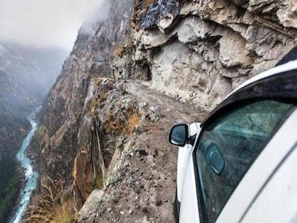 The World's 25 Most Dangerous Roads